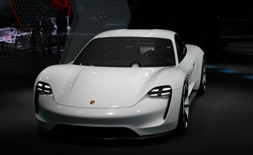 Another Tesla Fighter, the Porsche Mission E Concept