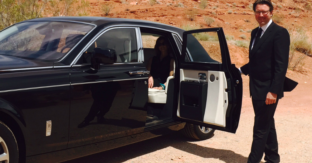 One Way You can Get to Drive a Rolls-Royce