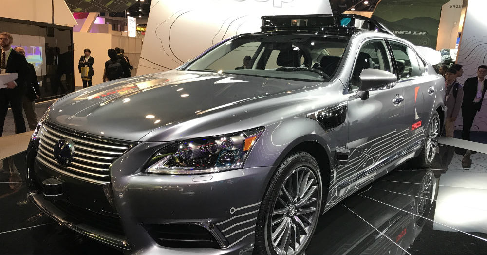 Lexus Is The First Place of Autonomy for Toyota