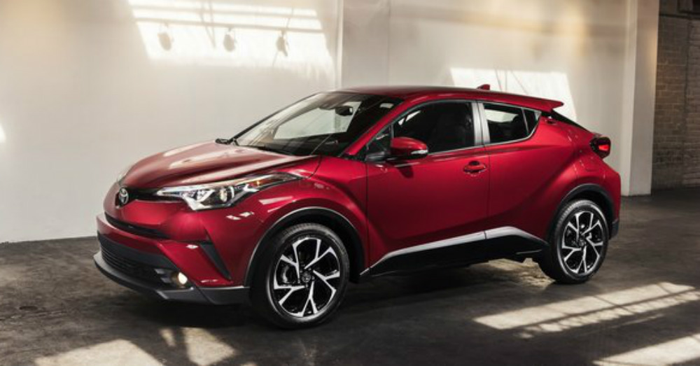Toyota C-HR – Stand Out on the Road