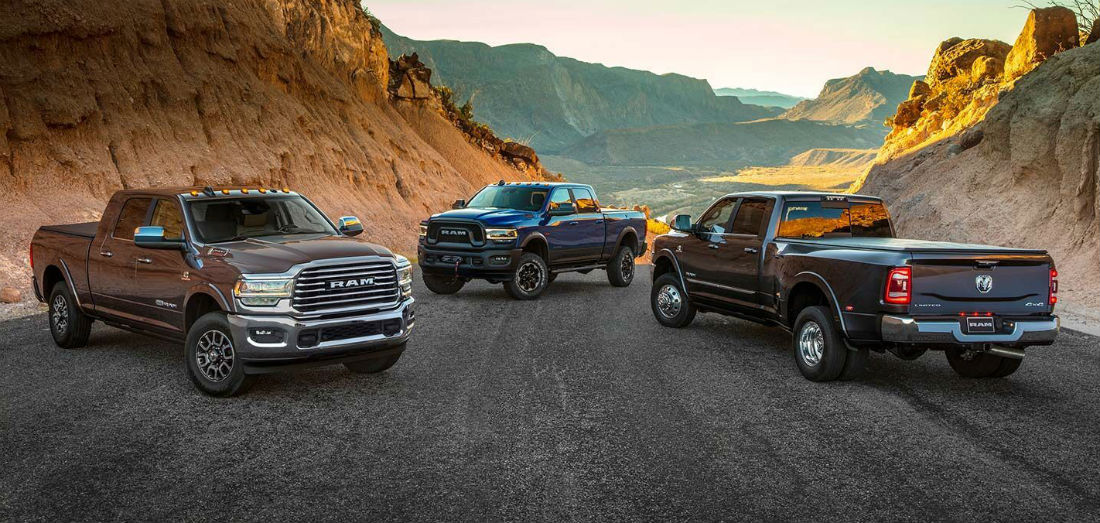 Big Power and Plenty of Features from Ram 2500 Truck