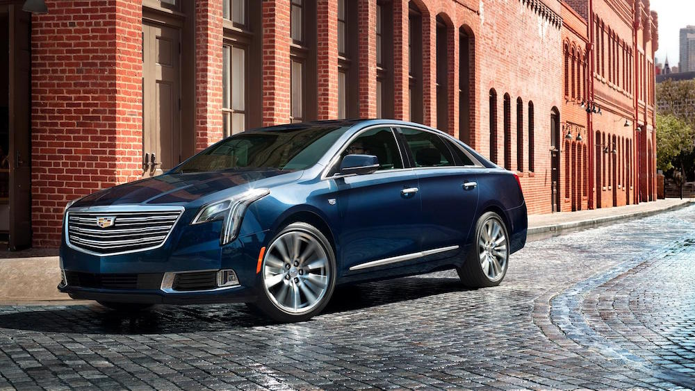 The Cadillac XTS has the Right Drive