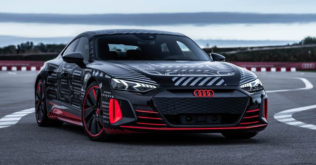 The Audi RS E-Tron GT is a Beast