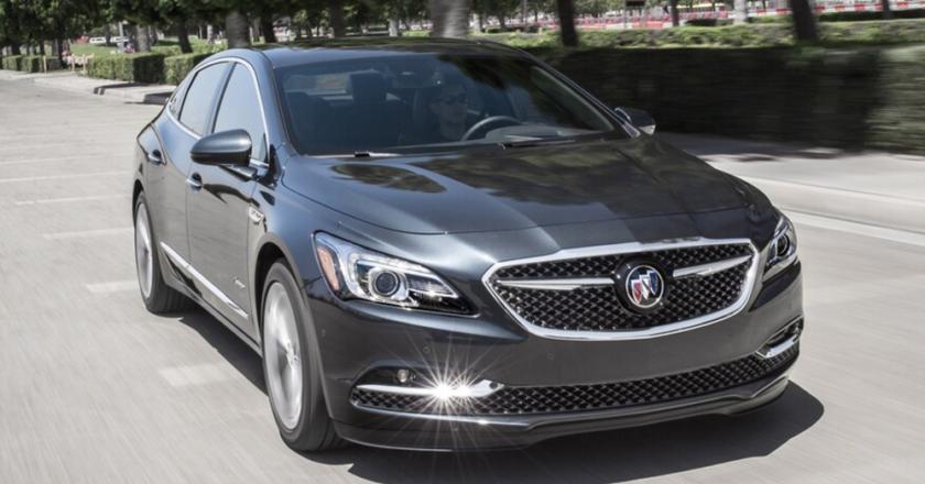 The Buick LaCrosse Avenir Takes Premium up a Notch