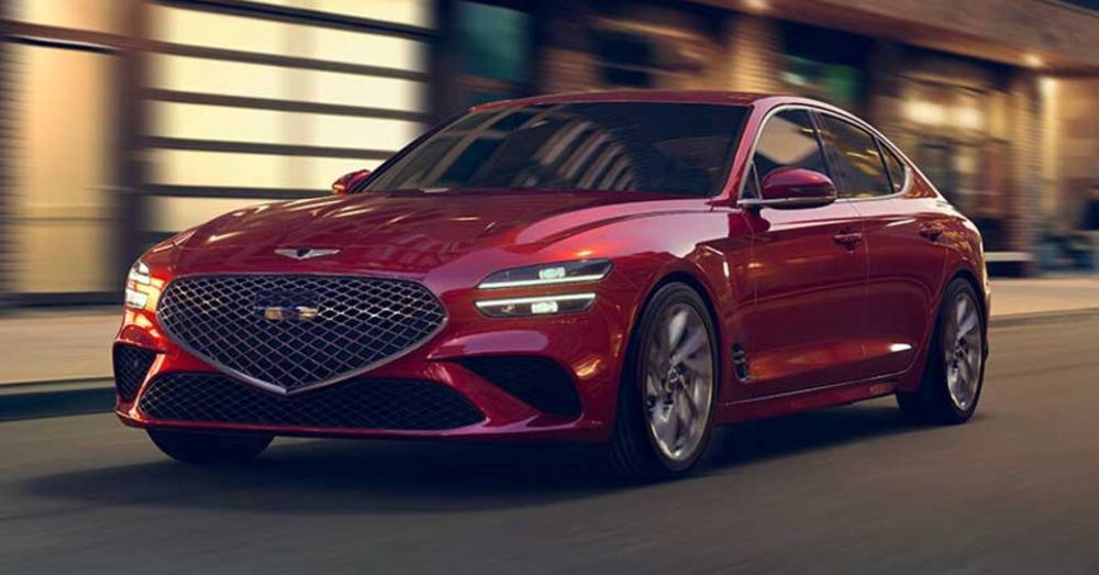 Let's Admire the Facelift of the New Genesis G70