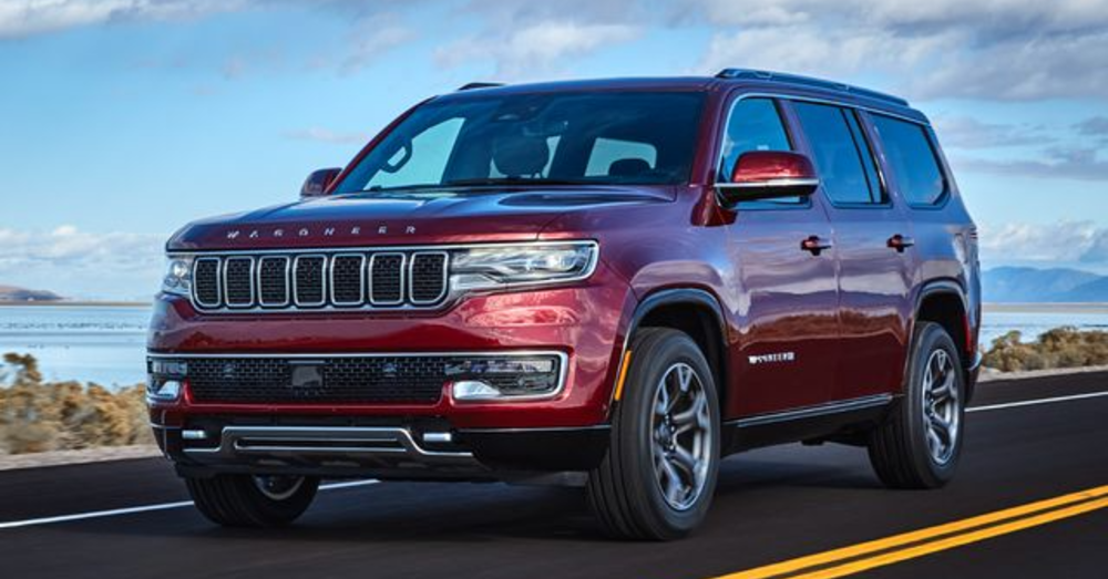 Luxury Driving Is Found in the New Jeep Wagoneer