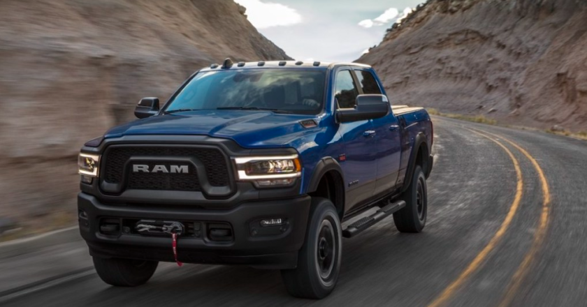 The Ram 2500 Power Wagon is a Big Off-Road Truck